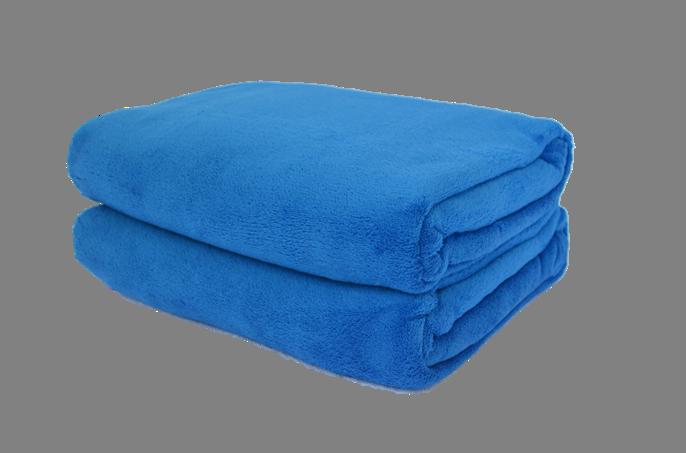 Cobertor Microfibra Plush Azul Royal