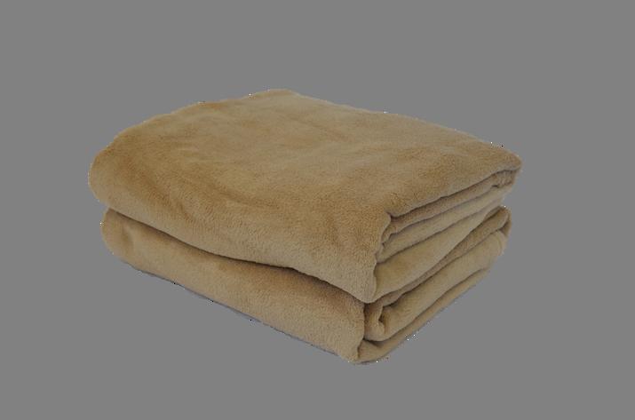 Cobertor Microfibra Plush Camurça