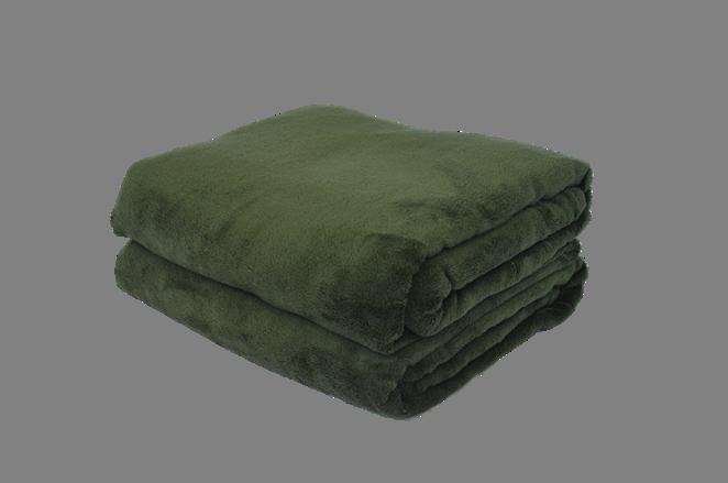 Cobertor Microfibra Plush Verde Petróleo