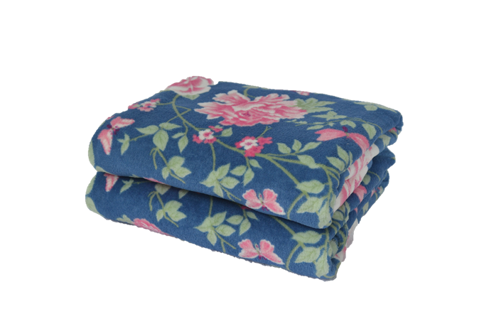 Cobertor Ultrasoft Floral Bromélias