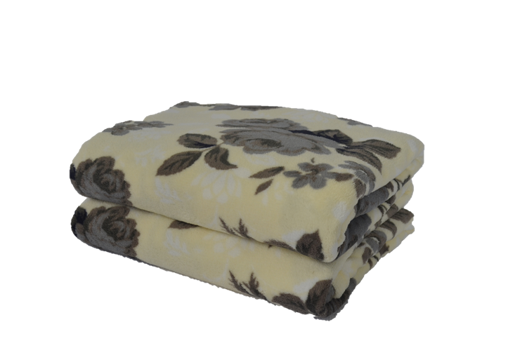 Cobertor Ultrasoft Floral Lisianthus