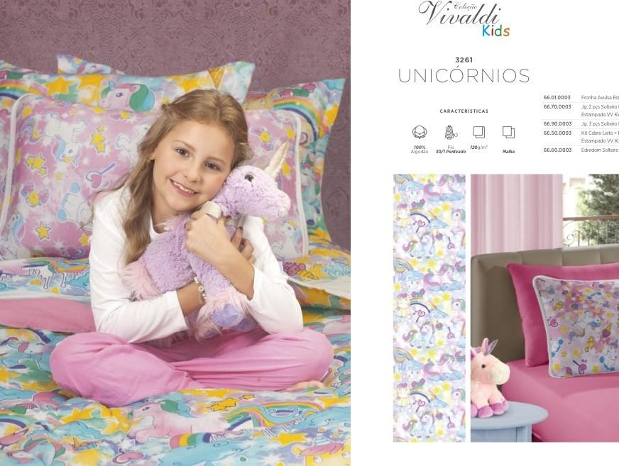 Jogos de Lençol Kids Solteiro 100% malha de algodão