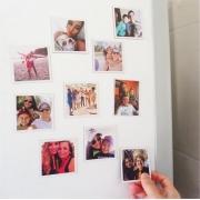 10 Imãs de Geladeira Personalizados com Foto