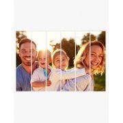 Mosaico de Foto - 6 Quadros Retangulares