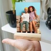 Plaquinha de Mesa - com sua foto