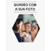 Quadro com Foto - 01 Unidade  - Formato Hexagonal