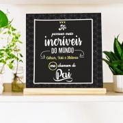 Quadro Personalizado Família - Dia dos Pais