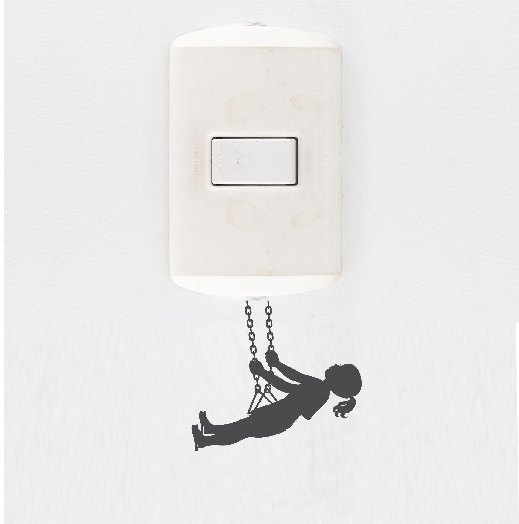 Adesivo de Interruptor e Tomada - Balanço
