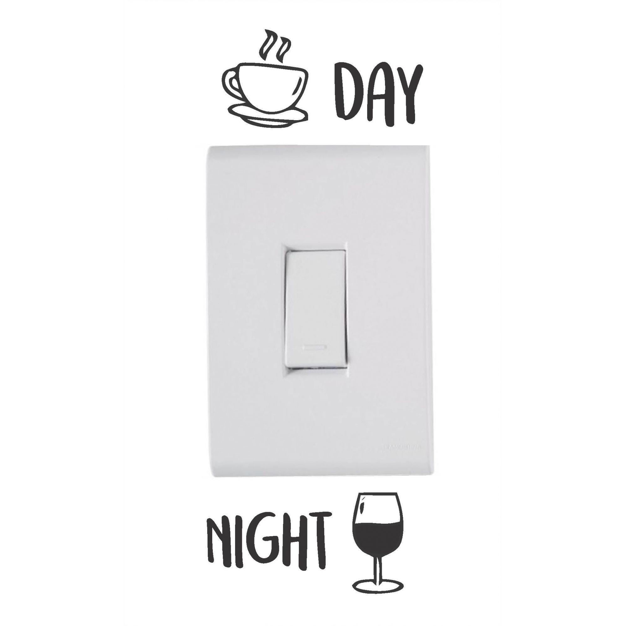 Adesivo de Interruptor e Tomada - Day & Night