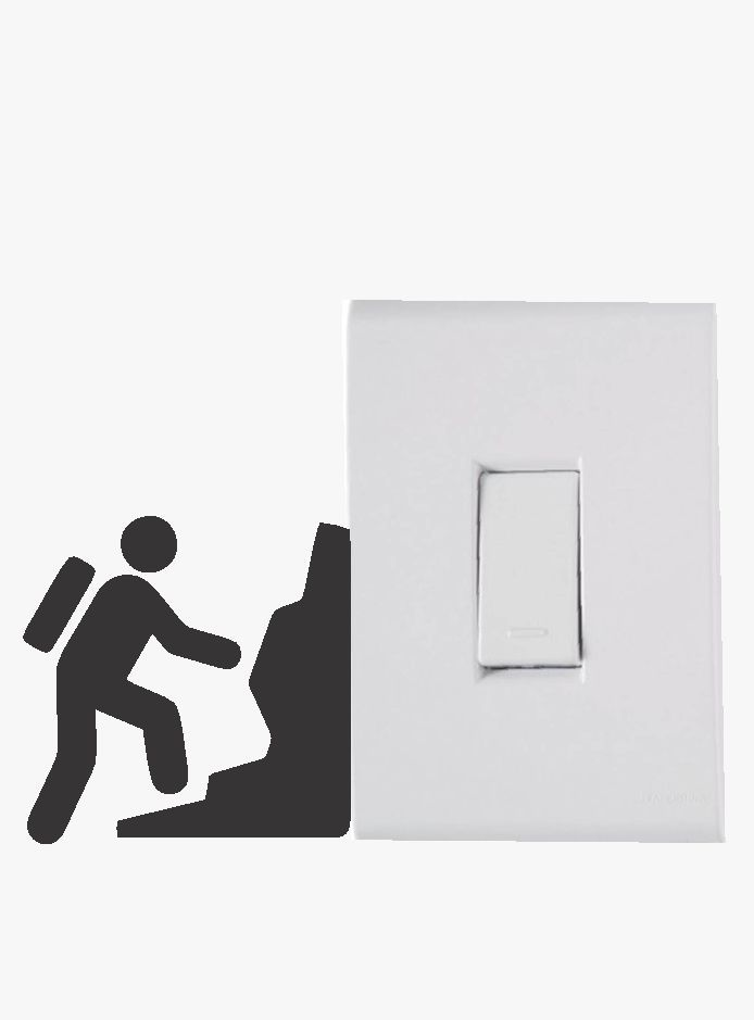 Adesivo de Interruptor e Tomada - Escalada