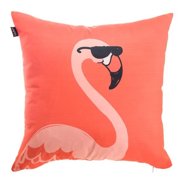 Capa de Almofada Flamingo