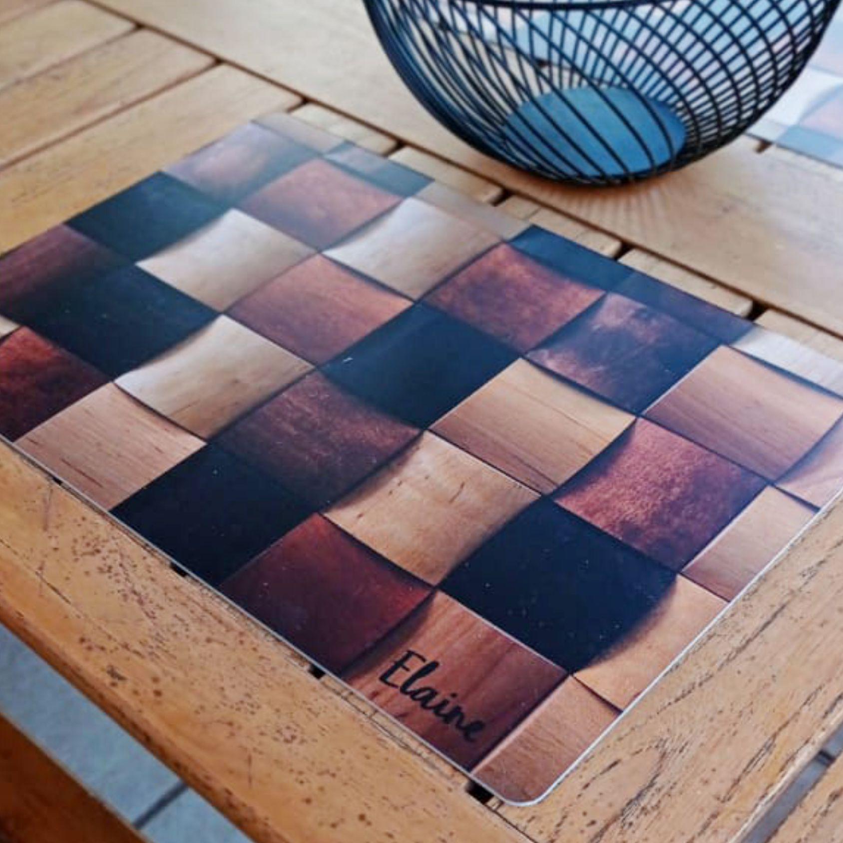 Jogo Americano Personalizado - bambu