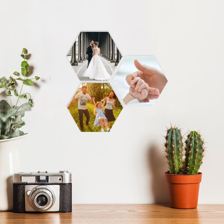 Quadro de Foto - Kit com 03 Unidades