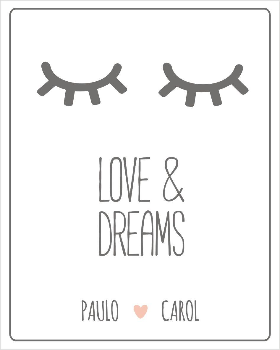 Mini Placa de Madeira Personalizada - Sleep Cílios
