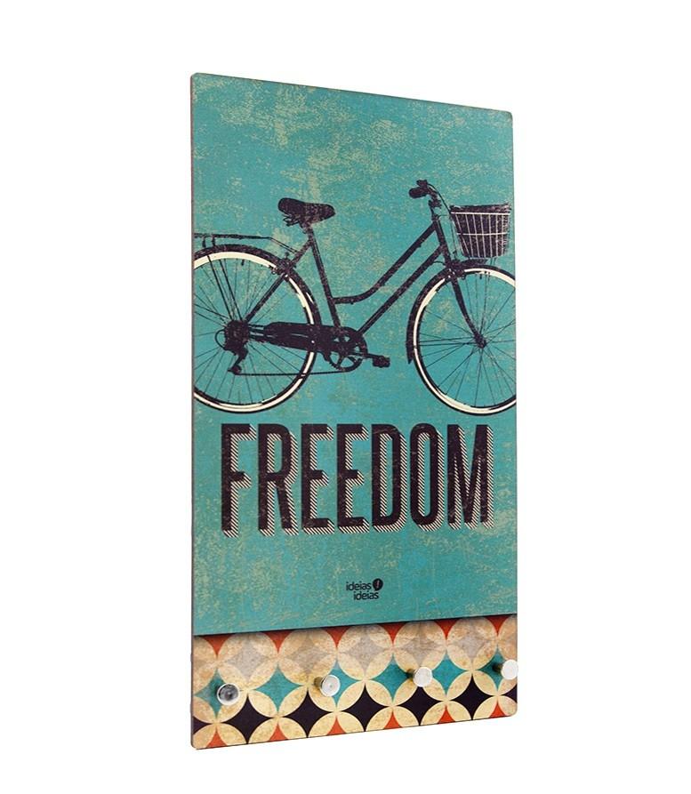 Porta Chaves Retro Freedom