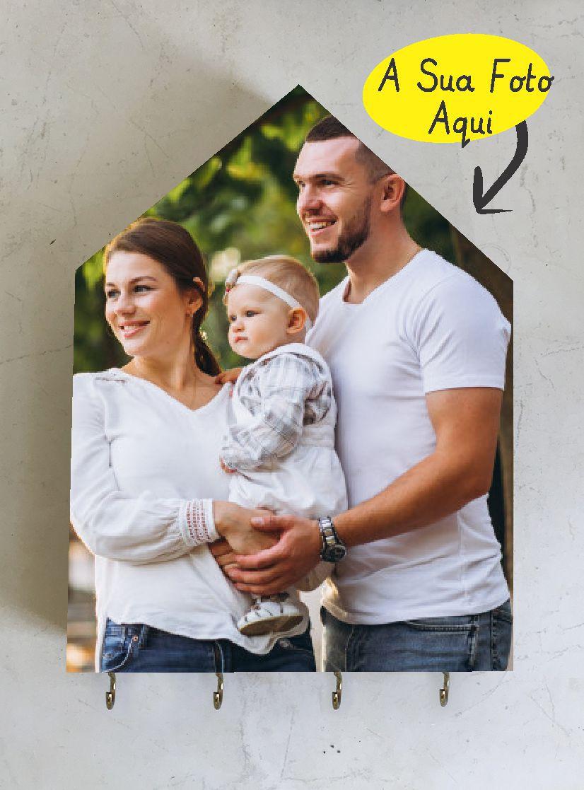 Porta-Chaves Personalizado com a SUA foto!!