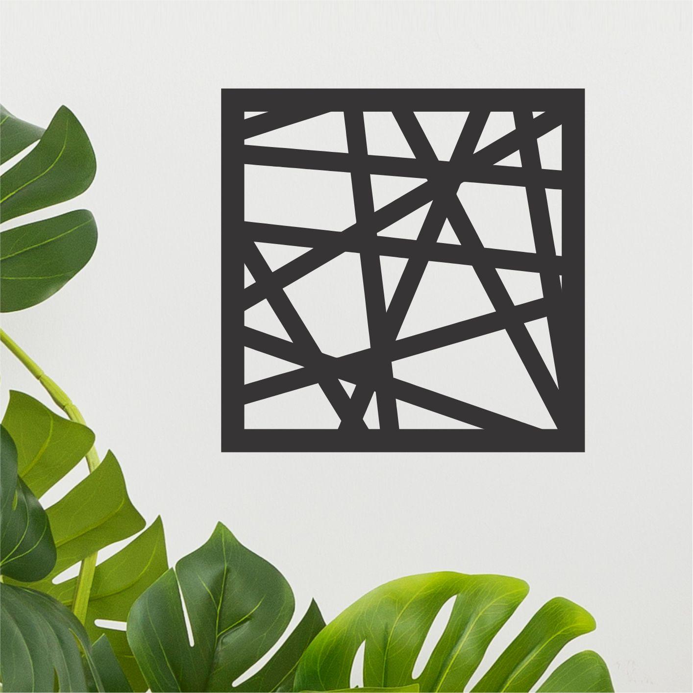 Quadro Decorativo em Recorte - Geométrico 04