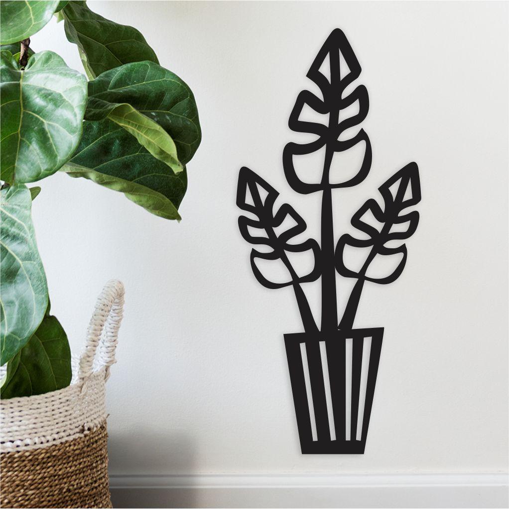 Quadro Decorativo em Recorte - plantInhas 03