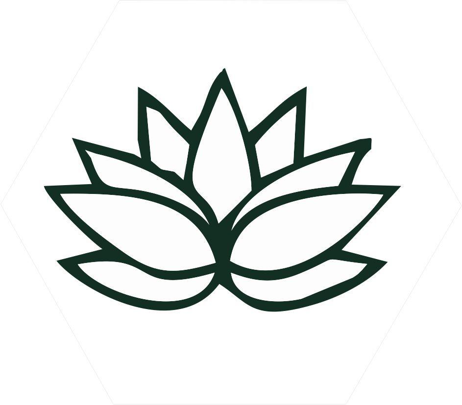 Quadro Escandinavo_Flor de Lotus