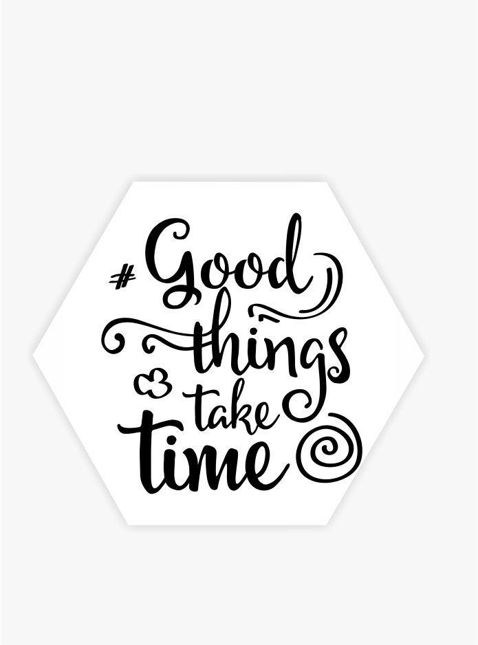 Quadro Escandinavo_Frase_Good Things