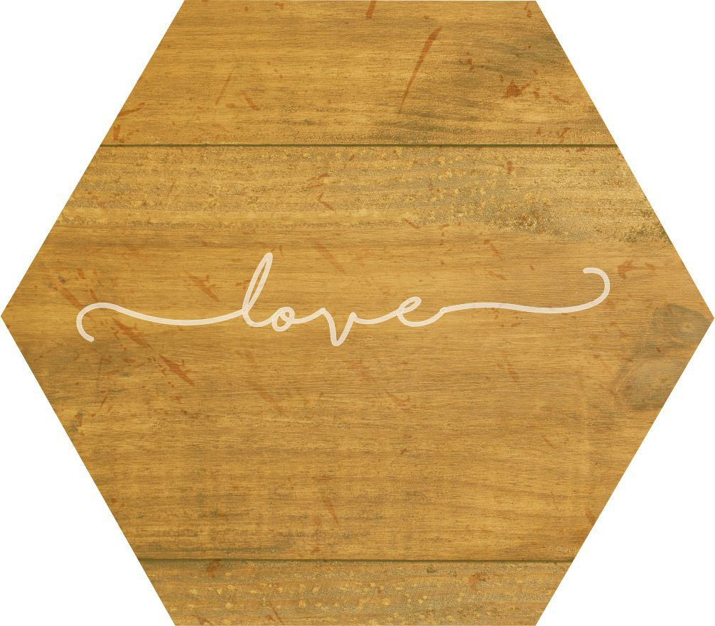 Quadro Estampa Madeira_Love