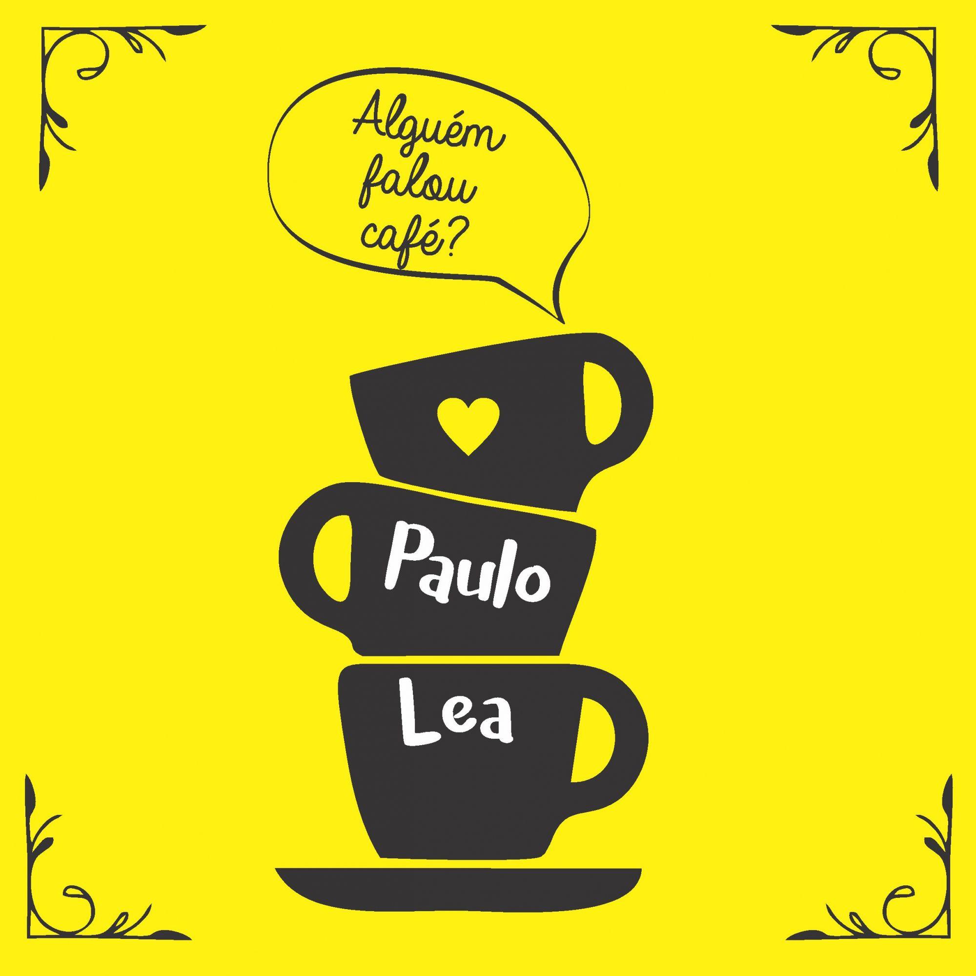 Quadro Personalizado - Alguém Falou Café?