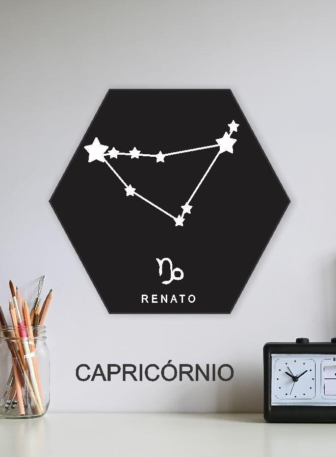 Quadro Personalizado - CAPRICORNIO