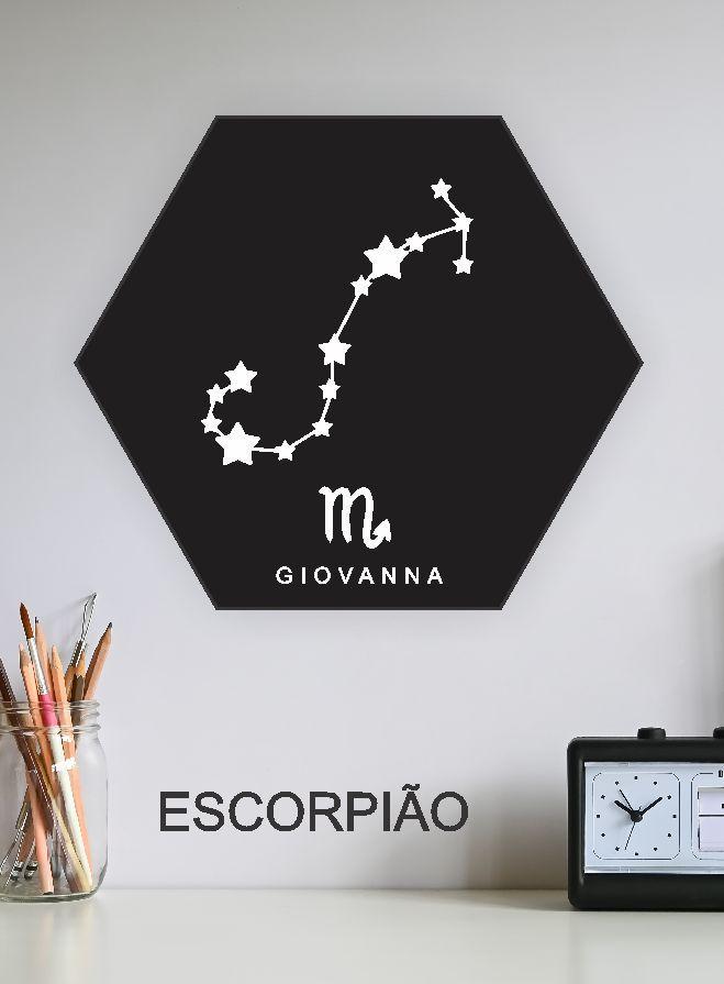 Quadro Personalizado - ESCORPIÃO
