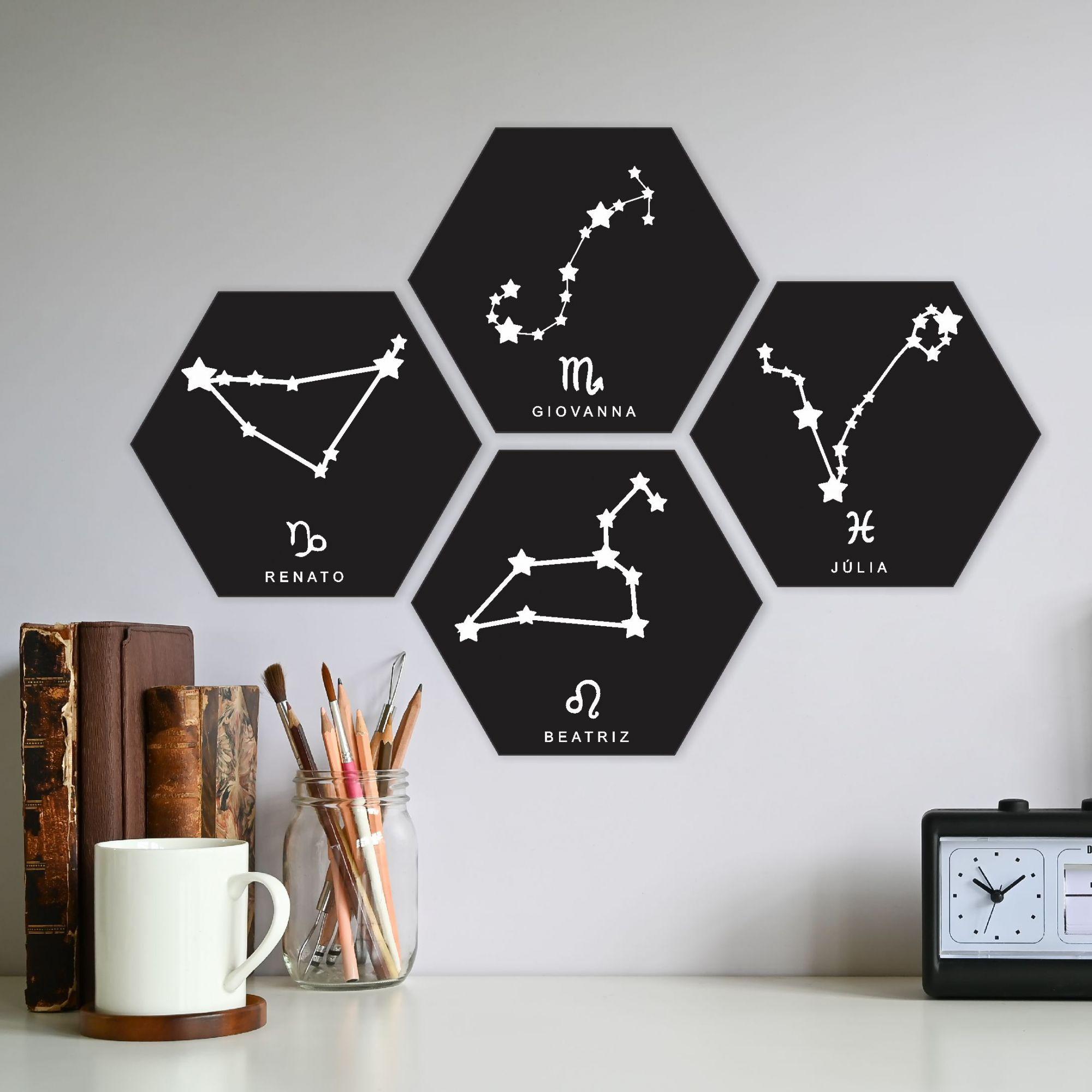 Quadro Personalizado - signos do horoscopo - SAGITÁRIO