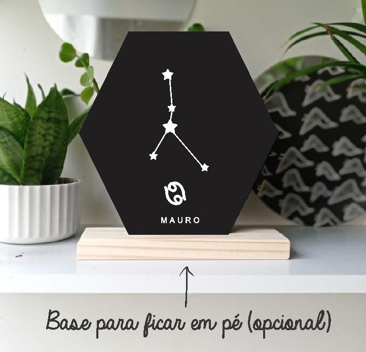 Quadro Personalizado signo do horoscopo - CÂNCER