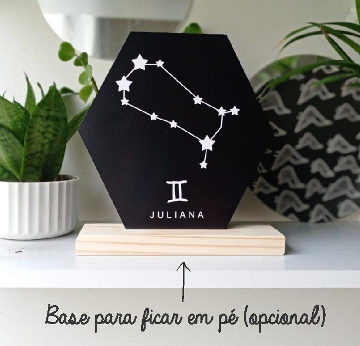 Quadro Personalizado signo do horoscopo - GÊMEOS