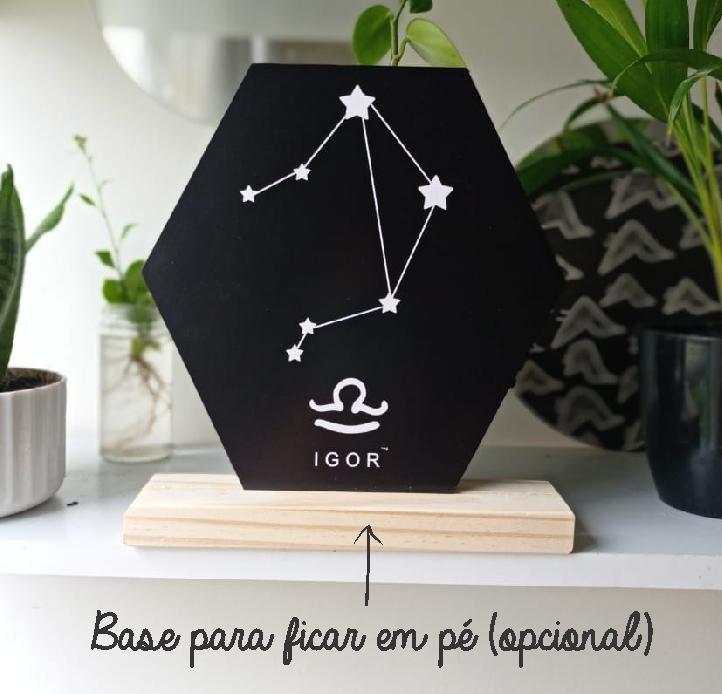 Quadro Personalizado signo do horoscopo - LIBRA
