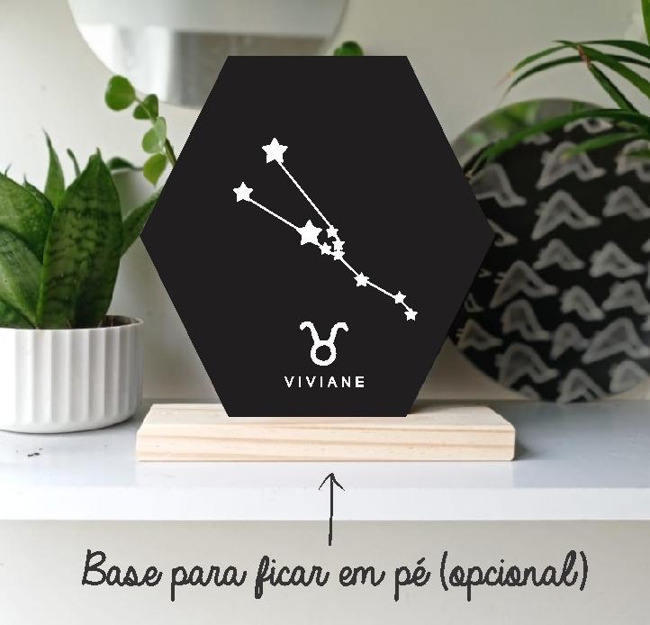 Quadro Personalizado signos do horoscopo - TOURO