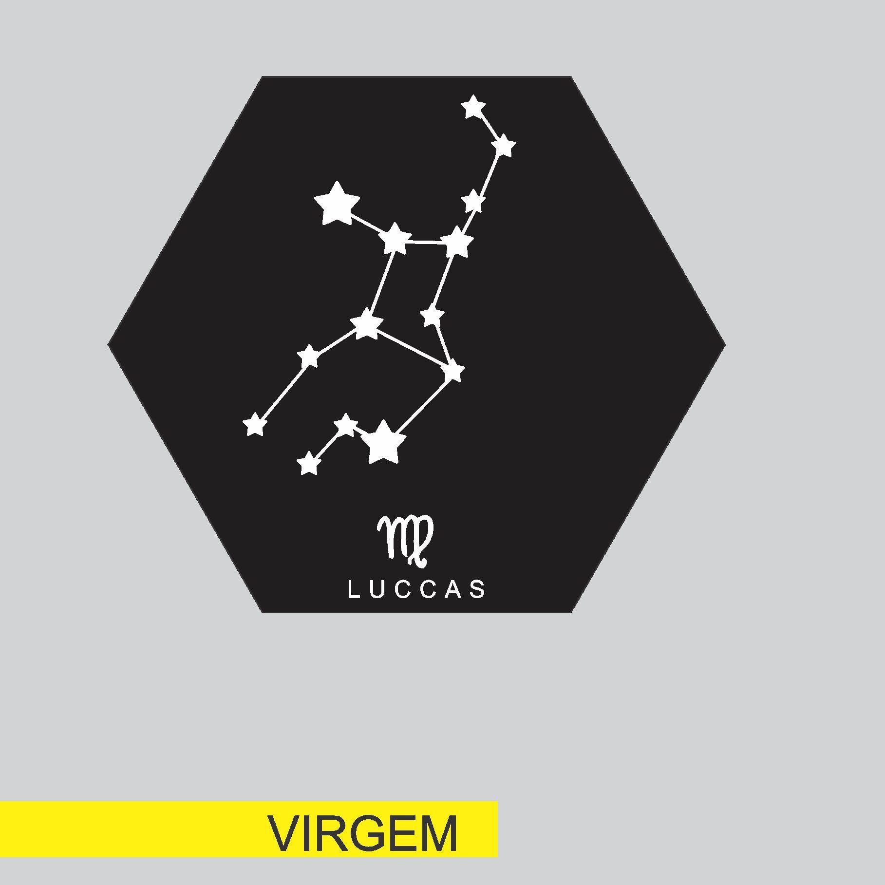 Quadro Personalizado signo do horoscopo - VIRGEM