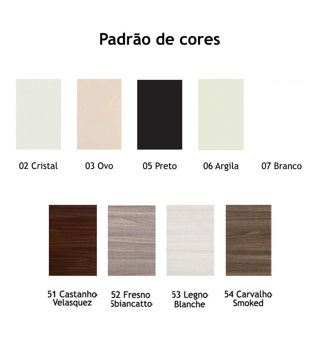 ARMÁRIO BAIXO COM 2 PORTAS DE ABRIR TAMPO 25MM PRIMA CLEAN