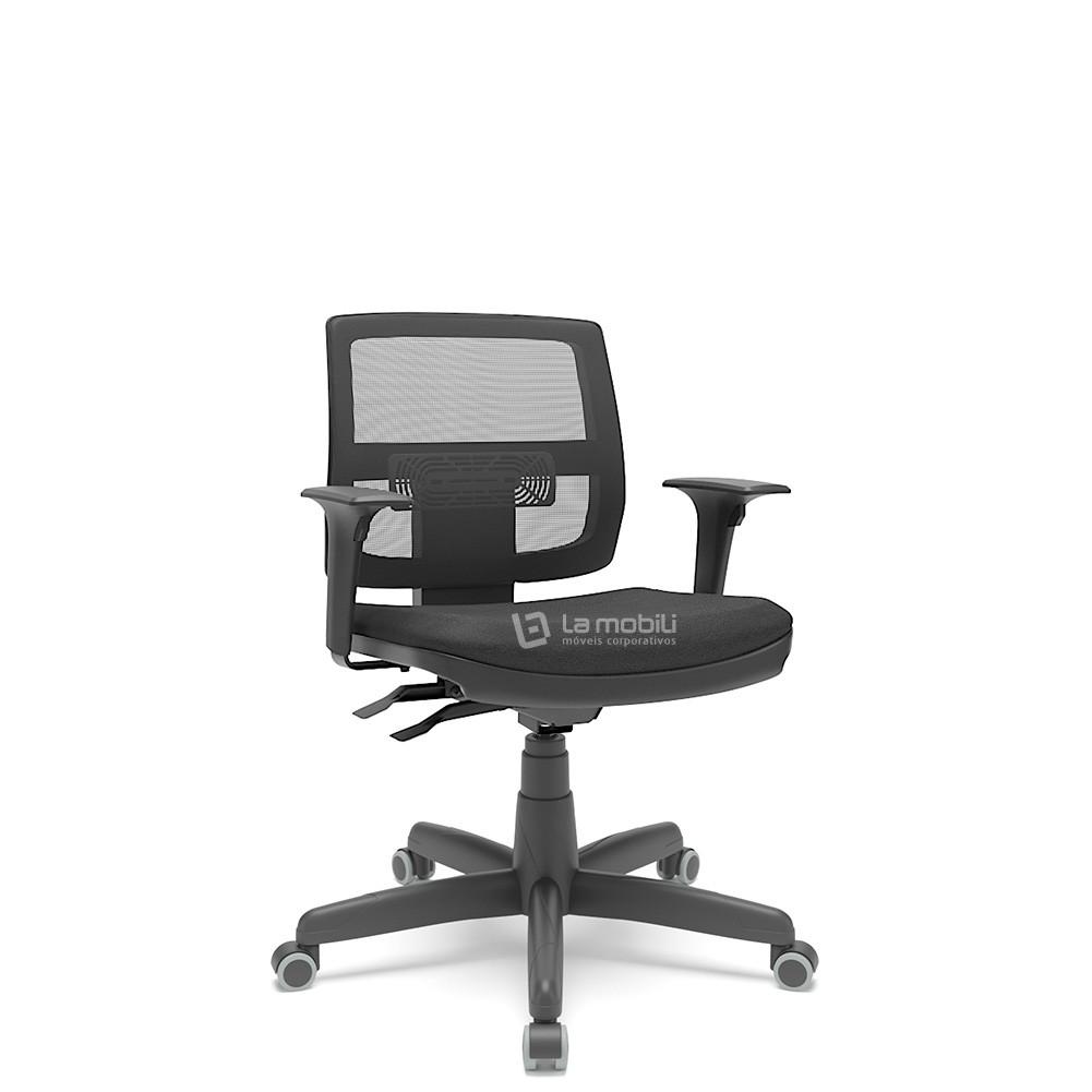 Cadeira Brizza Tela Executiva com Braços Reguláveis - NR.17