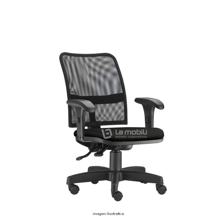Cadeira Executiva Operacional Soul com Encosto em Tela e Braços Reguláveis