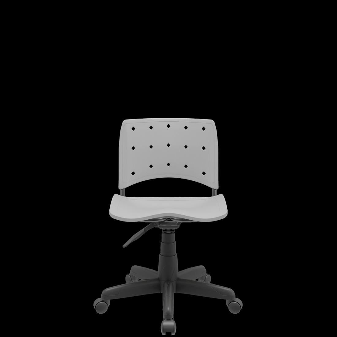 Cadeira Giratória Ergoplax Secretária em Polipropileno