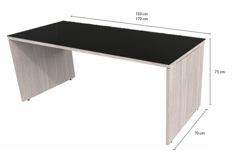 Mesa de Escritório em L com Gaveteiro Pedestal - Prima Impact
