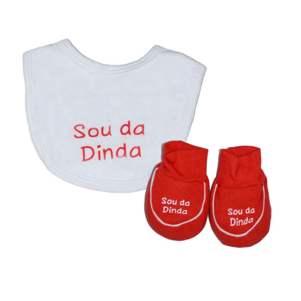 Kit Bebê Sapatinho e Babador Bandana Fantoni - Sou da Dinda 9a9ab9adea0