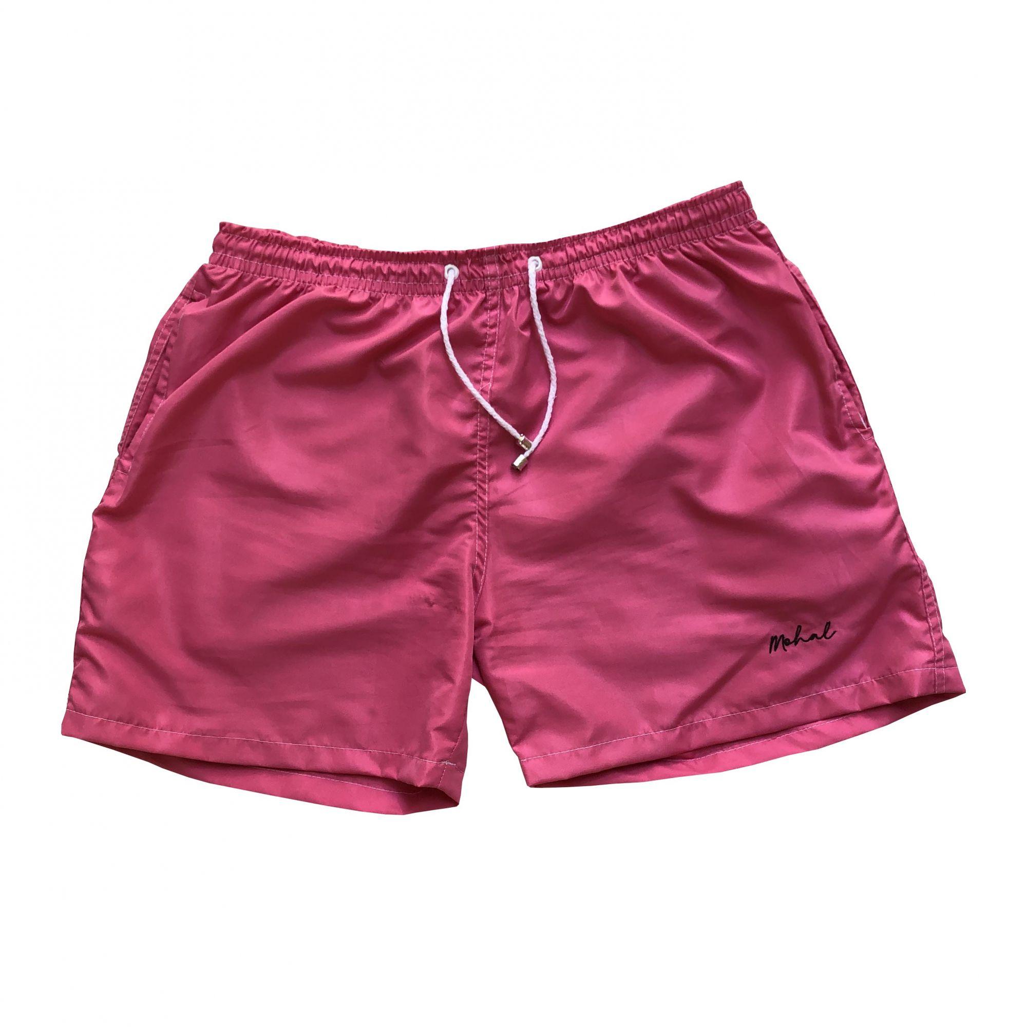 c7e6f577cb41f Summer Short Pink Liso - Mohal Wear