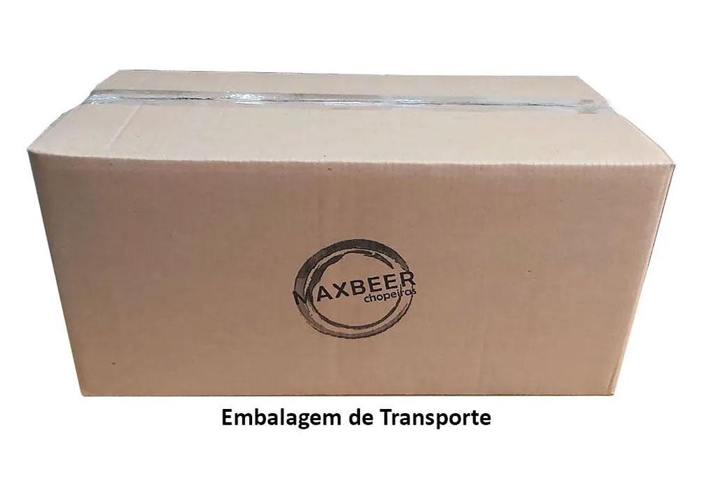 Kit De Extração Co2 6Kg Com Regulador De 2 Vias Para Chopp Com Torneiras Completo  - MAXBEER CHOPEIRAS