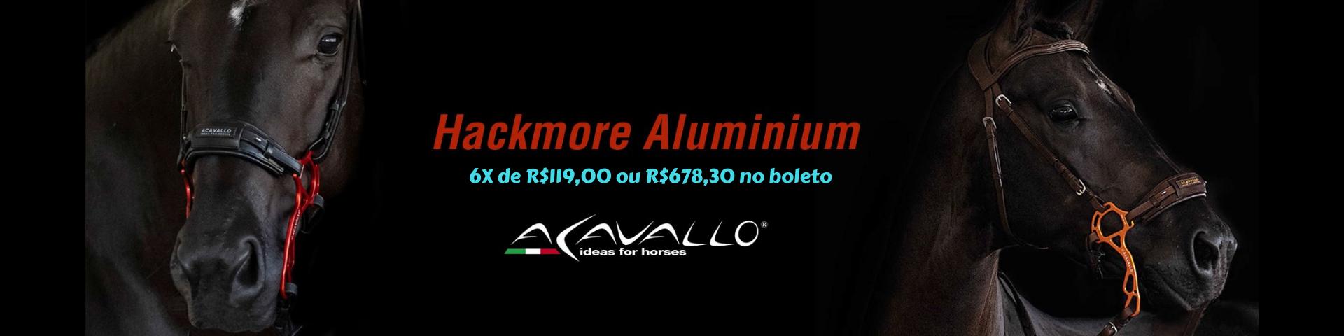 hackamore aluminium Acavallo