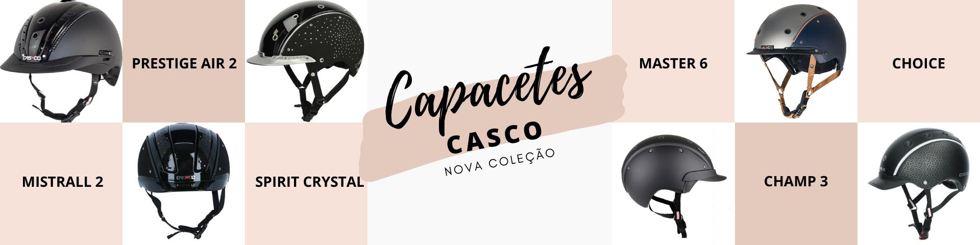 Nova coleção Capacetes Casco