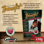 BENEFIT BISCOITO PRA CAVALO