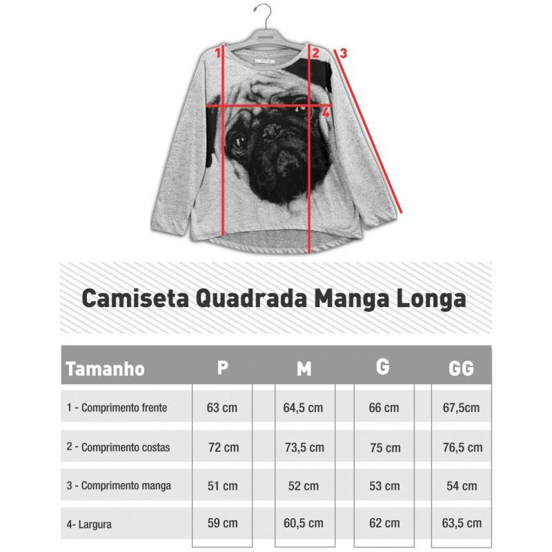 BLUSA QUADRADA CAVALO PURO SANGUE