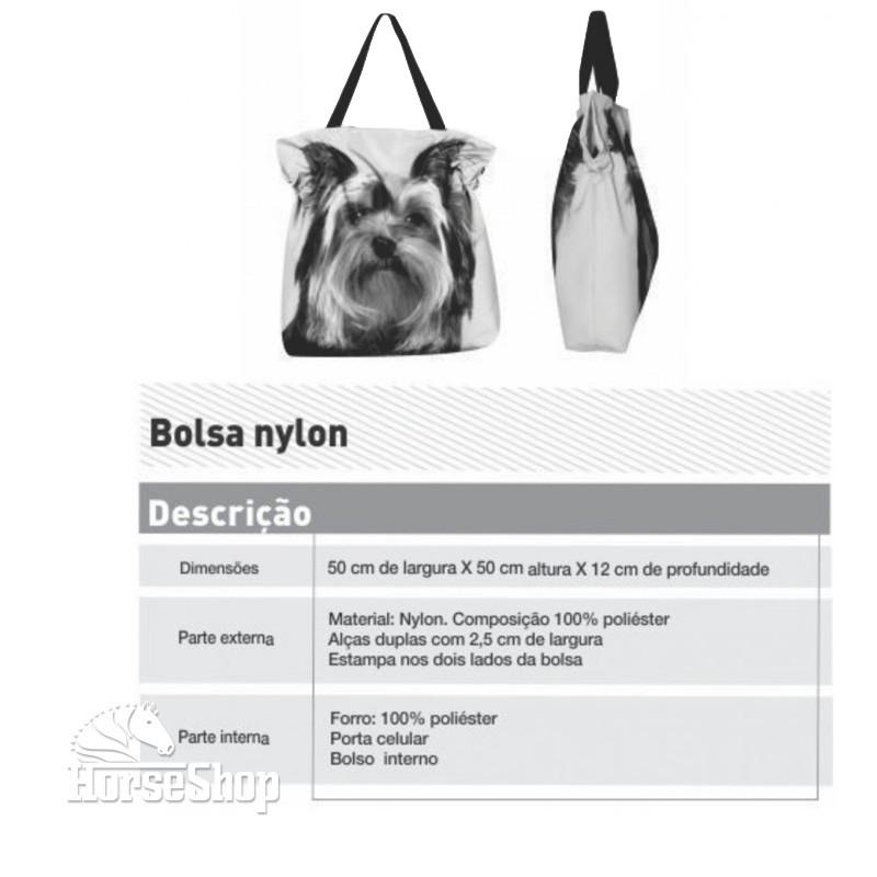 BOLSA NYLON CAVALO NOITE