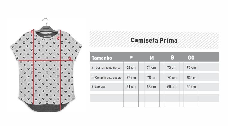 CAMISETA PRIMA CAVALOS