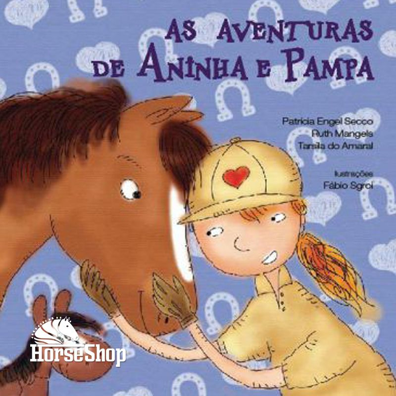 LIVRO: AS AVENTURAS DE ANINHA E PAMPA