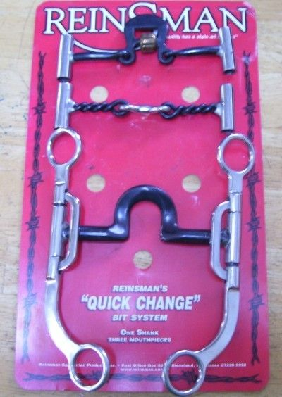 REINSMAN S 8 QUICK CHANGE BIT SET